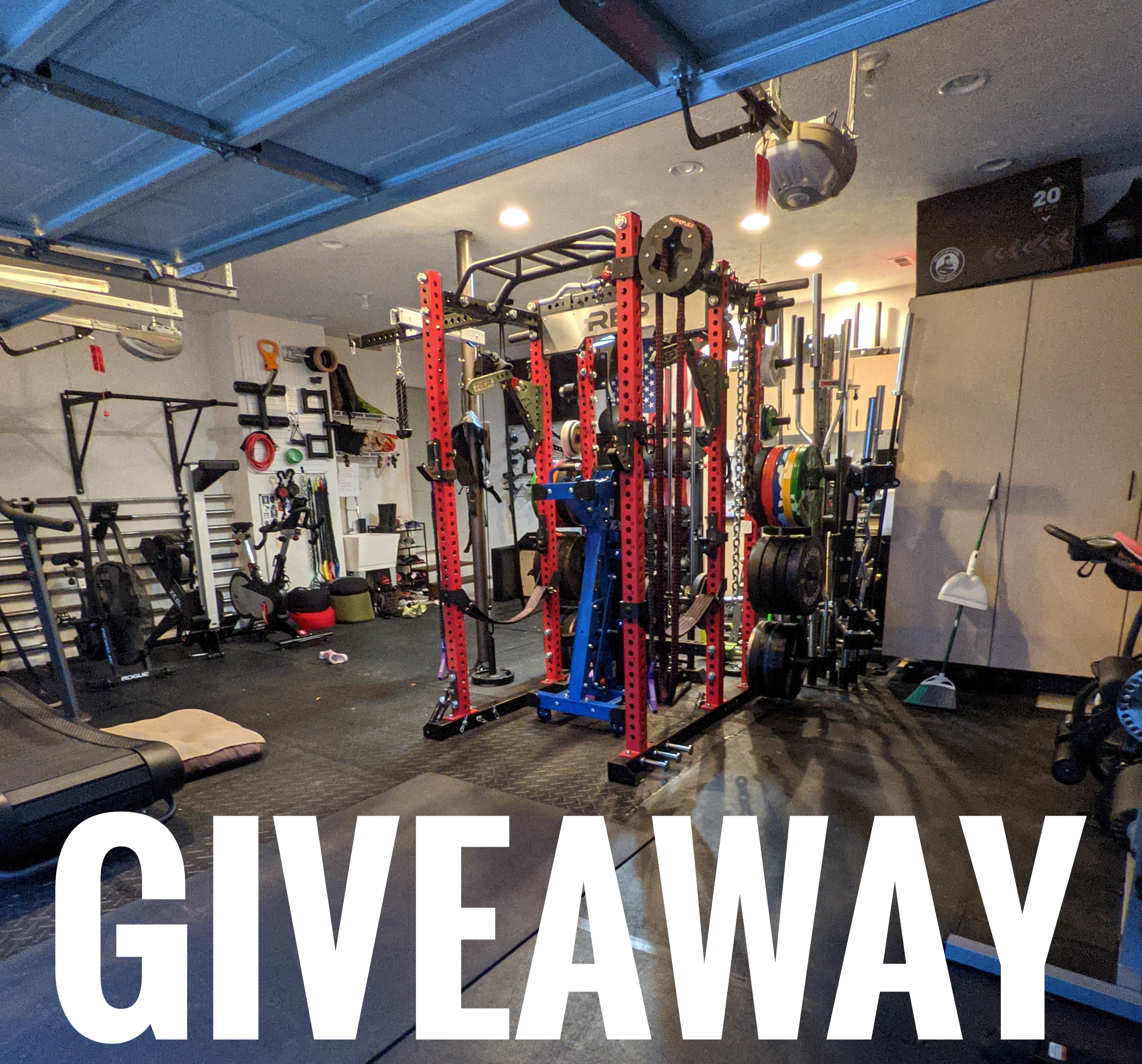 $500 Gym Equipment Giveaway!