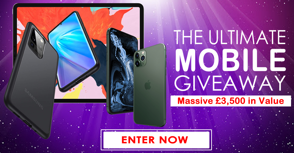 £3,500 Mobile Giveaway